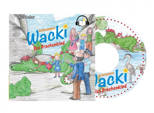 Hörbuch auf CD - Schatzbergdrache WACKI - Das Drachenkind - Band 1