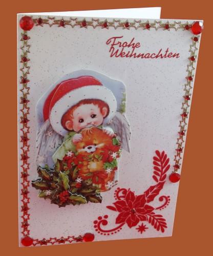 Weihnachtskarte mit