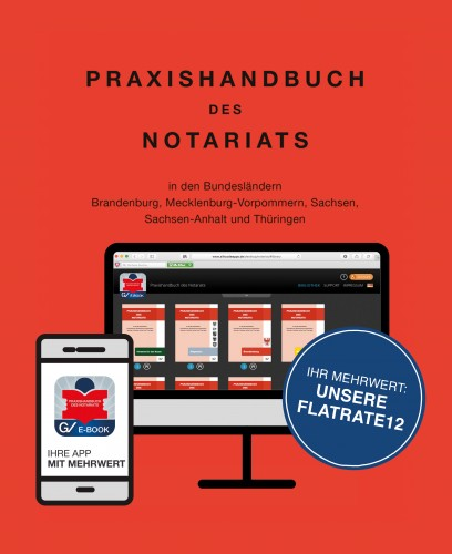 Praxishandbuch des Notariats Flatrate12 - Zum Preis von mtl.