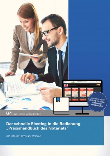 Bedienanleitung Desktop-Browser für das App Praxishandbuch des Notariats