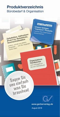 Produktverzeichnis-Büro & Organisation-2018/19