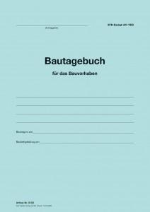 Umschlag Bautagebuch EFB-Bautagb 357.StB