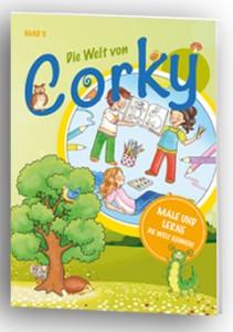 Malen mit Corky Band II Male die Welt von Corky