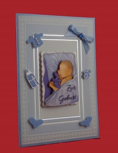 Geburtskarte Junge