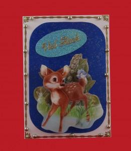 Bambi wünscht Viel Glück