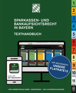 Sparkassen- und Bankaufsichtsrecht in Bayern - Flatrate12