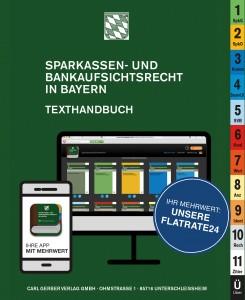 Sparkassen- und Bankaufsichtsrecht in Bayern Flatrate24