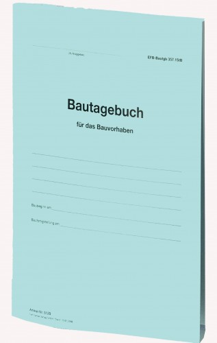 Bautagebuch EFB-Bautagb 357.StB als Broschüre
