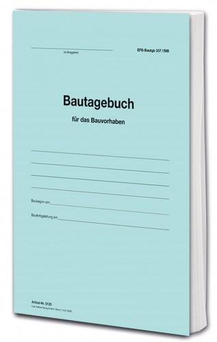 Bautagebuch EFB-Bautagb 357.StB als Buch