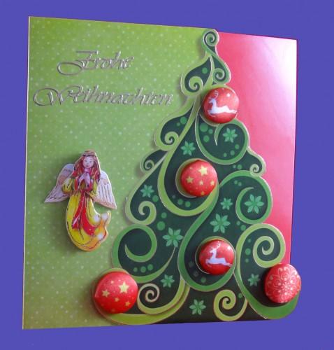 Weihnachtsbaum mit Engel