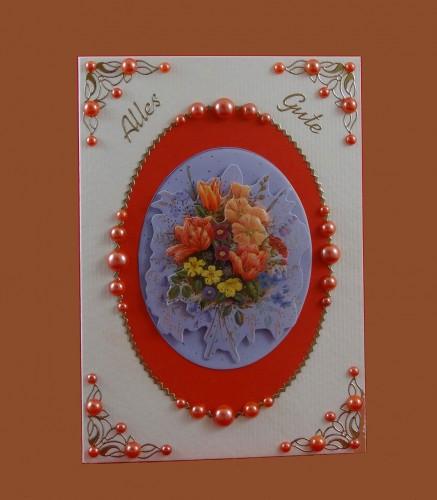 Blumenstrauß - Alles Gute