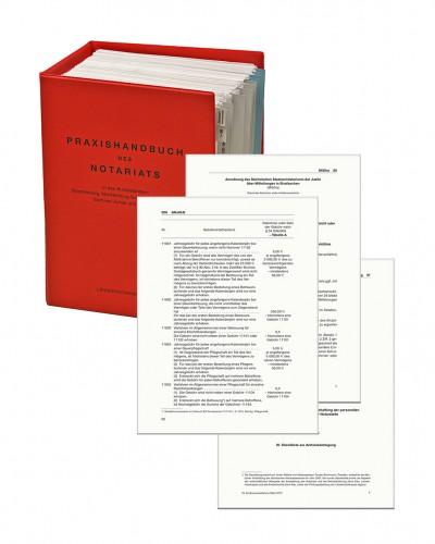 31. Aktualisierung zum Praxishandbuch des Notariats