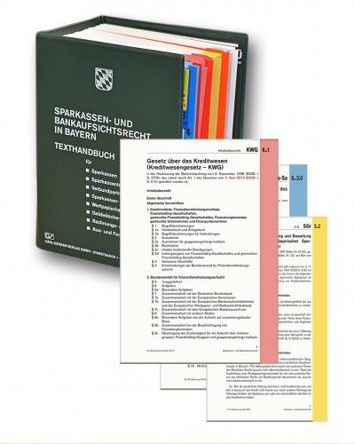 112. Aktualisierung zum Sparkassen- und Bankaufsichtsrecht in Bayern