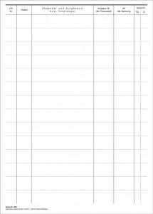 Eingangsbuch über Postwertsendungen (200 S.)