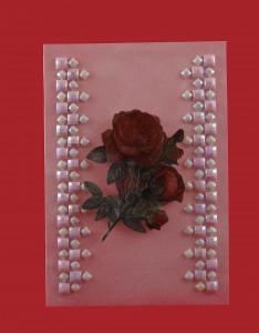 Geburtstagskarte Rose