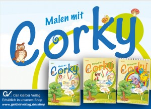 Malspaß mit Corky – Band I bis III